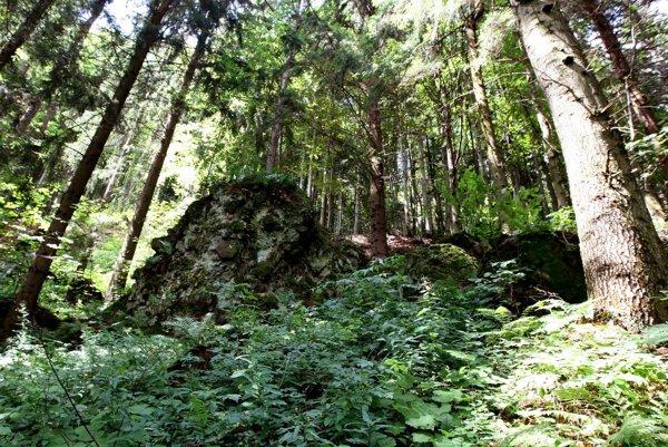Pri Skale lásky uprostred lesa si môžete posedieť a niečo príjemné zaželať.