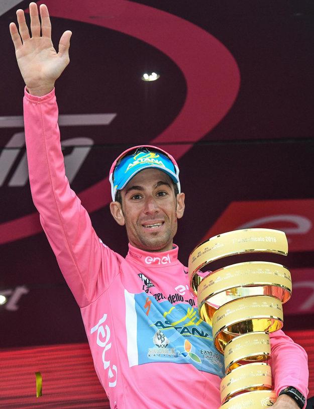 Tento rok Vincenzo Nibali vyhral Giro d'Italia.