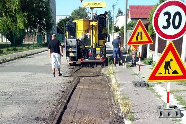 Rekonštrukcia začala aj na Poštovej ulici.