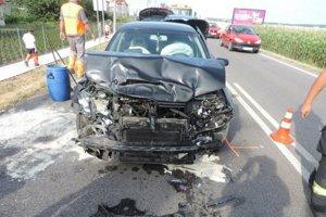 Nehoda v Hornej Seči.
