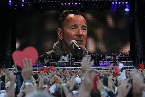 Bruce Springsteen počas The River Tour 2016.