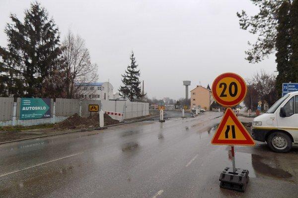 Križovatka Šurianska - Považská.