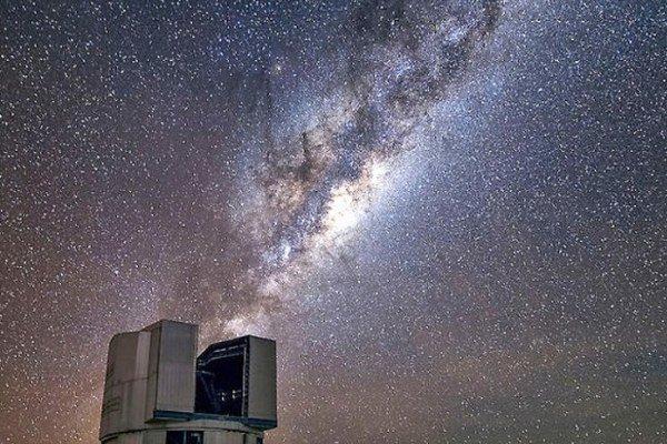 Mliečnu dráhu je najlepšie vidno vneobývaných častiach planéty.