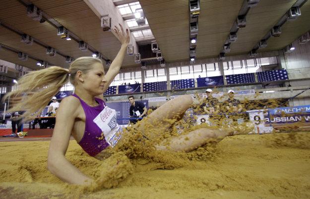 Daria Klišinová bude jedinou zástupkyňou ruskej atletiky v Riu de Janeiro.