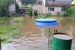 Takto to zas vyzeralo po záplavách v Bartošovej Lehôtke.