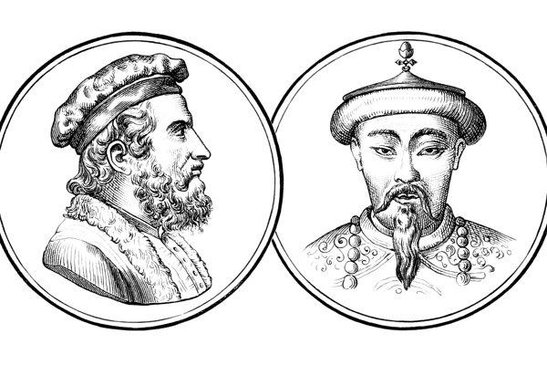 Marco polo a Chubilaj Chán.
