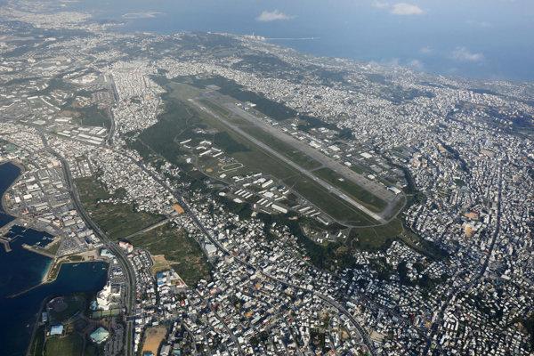Vojenské letisko na Okinave.