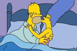 Koho budú voliť, sa Simsponovci rozhodli v posteli.