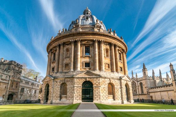 Oxfordská univerzita, ilustračné foto.