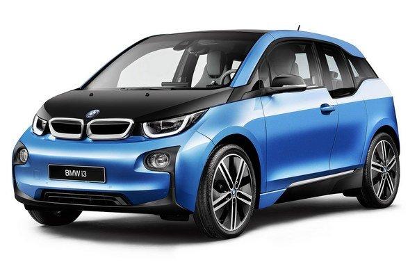 Kompaktný elektromobil BMW i3. Nová verzia s doplnkovým označením (94 Ah) má výkonnejšiu batériu, čím sa dojazd podľa normovaného cyklu NEFZ predĺžil až na 300 kilometrov.
