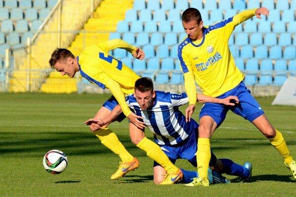 Derby v Čermeli VSS Košice – Lok. Košice.