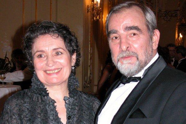 Eva Matejková a Marián Slovák. Herec sa o svoju manželku bojí.
