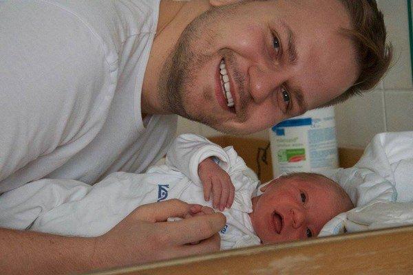 Dvaja Martinovia Chodúrovia. Malý sa vraj na veľkého veľmi podobá.