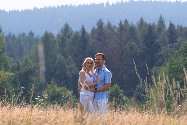 Martin Chodúr s Ivonou. Čoskoro budú rodičmi.