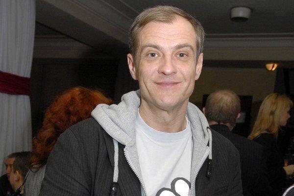 Filmová hviezda. Roman Luknár patrí k našim najvychytenejším filmovým hercom.