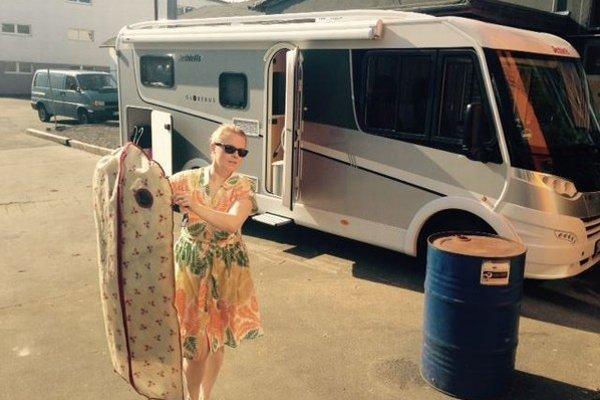 Patricia strávi leto v karavane. Presne takto kedysi cestovala s Kelly Family.