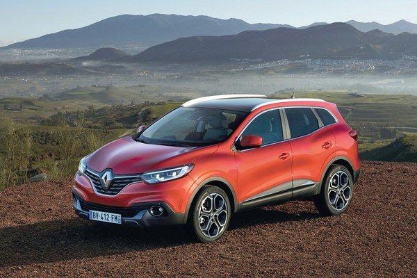 Športovo-úžitkový Renault Kadjar. Svetovú premiéru má táto francúzska novinka, odvodená od modelu Nissan Qashqai, na medzinárodnom autosalóne v Ženeve.