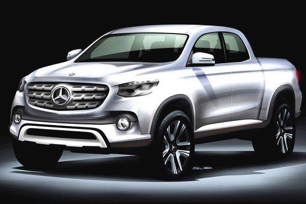 Prvý jednotonový pikap Mercedes-Benz. Pikap vyvíja nemecký koncern Daimler v spolupráci s alianciou Renault-Nissan a bude sa vyrábať v Argentíne i Španielsku.