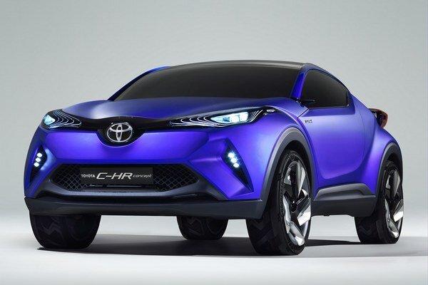 Koncepčný automobil Toyota C-RH. Sériový model, odvodený z tejto štúdie, by mal byť konkurenciou pre modely Nissan Juke či Renault Captur.