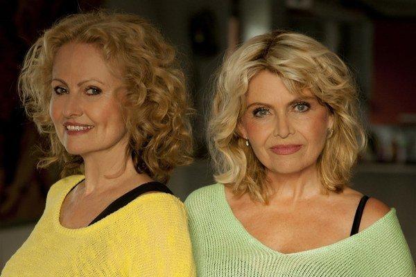 Nestarnúce hviezdy. Hana Buštíková (vľavo) a Dana Vlková (vpravo) sú stále plné elánu.