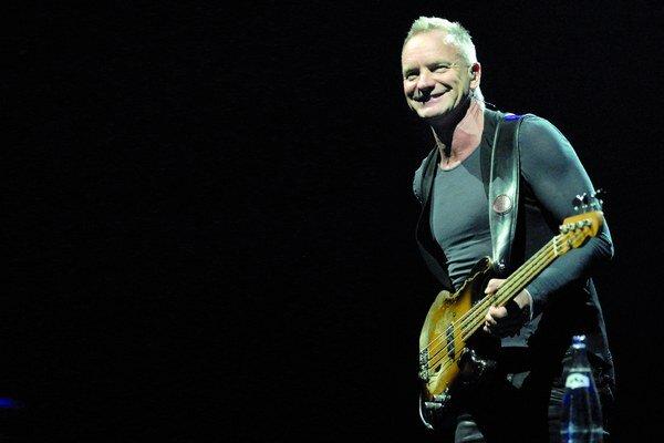 Pred dvoma rokmi v Košiciach koncertoval Sting.