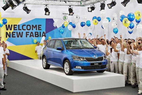 Nová Fabia sa koncom augusta začala vyrábať v hlavnom závode spoločnosti Škoda Auto v Mladej Boleslavi.