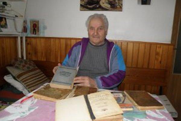 Ivan Čulen zbiera kuchárske knihy aj recepty z časopisov.
