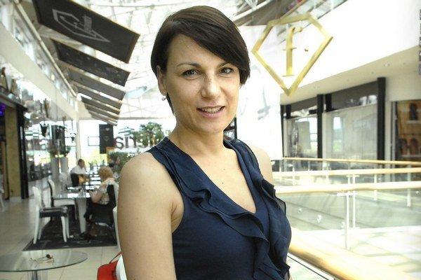 Katarína Sedmáková. V Košiciach učí deti už deväť rokov.