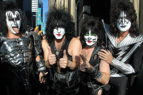 Aj skupinu Kiss uvedú na budúci rok do Rokenrolovej siene slávy.