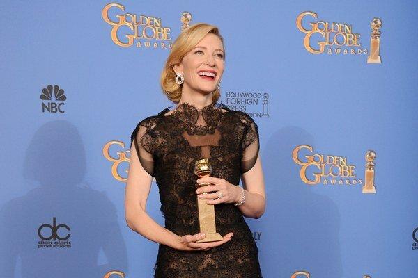 Cate Blanchett. Najlepšia dramatická herečka.
