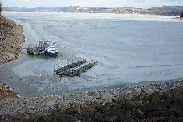 Takýto pohľad na Domašu sa naskytol na konci minuloročnej zimy.