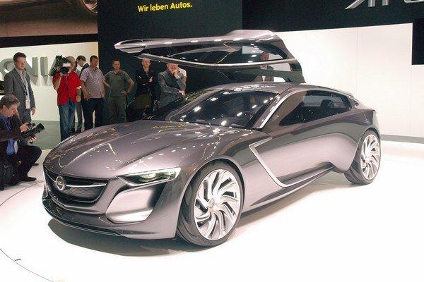 Štúdia Opel Monza. Monza naznačuje smery, akými sa bude uberať vývoj budúcich sériových modelov značky Opel.