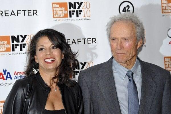 Dina a Clint Eastwoodovci.