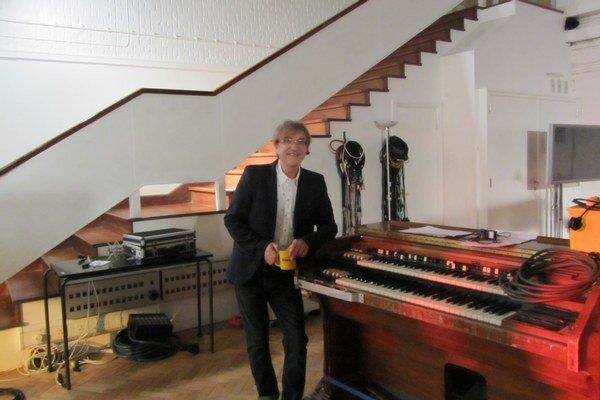 Miro Žbirka v štúdiu na Abbey Road.
