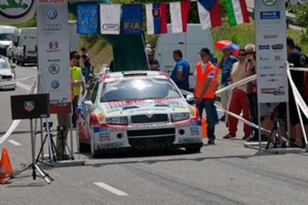 Igor Drotár. Podobne ako vlani aj teraz sa predstaví na kopci Jahodná v špeciáli WRC.