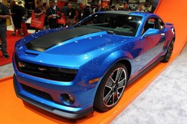 Chevrolet Camaro Hot Wheels. Svojím dizajnom má Camaro pripomínať modelové autíčko zo série Hot Wheels.