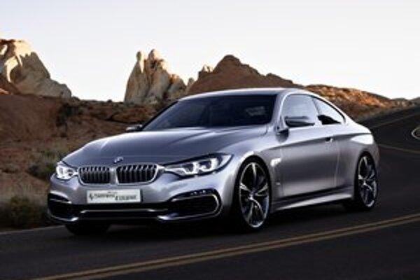 Štúdia kupé BMW radu 4. Nové kupé sa bude výrazne odlišovať od limuzíny a kombi radu 3, s ktorým zdieľa podvozok.