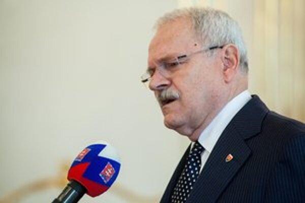 Ivan Gašparovič. Sám sebe bol najväčším konkurentom.