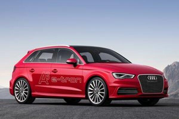 Audi A3 e-tron. Nové audi s hybridným hnacím systémom má svetovú premiéru na terajšom ženevskom autosalóne.