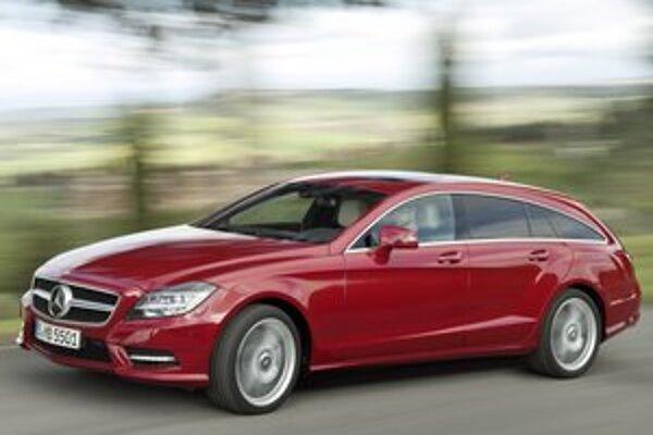 Mercedes-Benz CLS shooting brake. Svetovú premiéru mala táto nová verzia štvordverového kupé CLS na Festivale rýchlosti v Goodwoode.