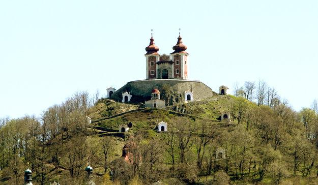 Kalvária v Banskej Štiavnici.