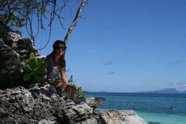 Spomienka na more v Thajsku.