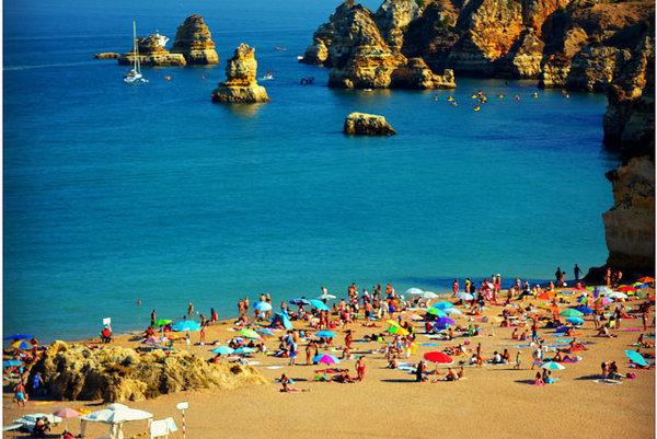 Portugalské pláže patria medzi najčistejšie v Európe.