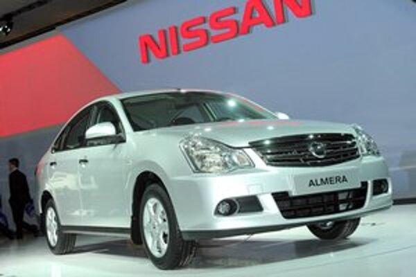 Nový Nissan Almera. Almera, ktorá má premiéru na autosalóne v Moskve, bola vyvinutá špeciálne pre ruský trh.