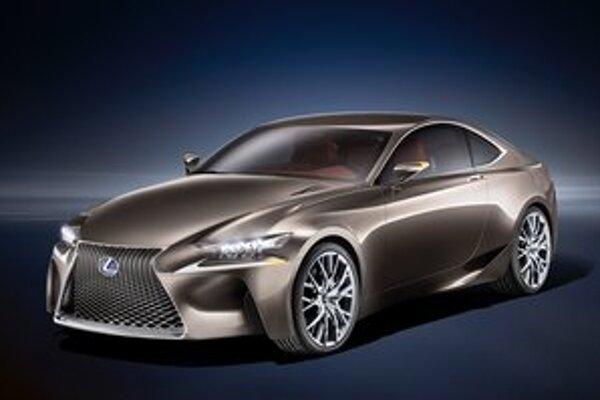 Štúdia Lexus LF-CC. Podľa zatiaľ neoficiálnych informácií je táto štúdia predzvesťou nového sériového modelu IS.