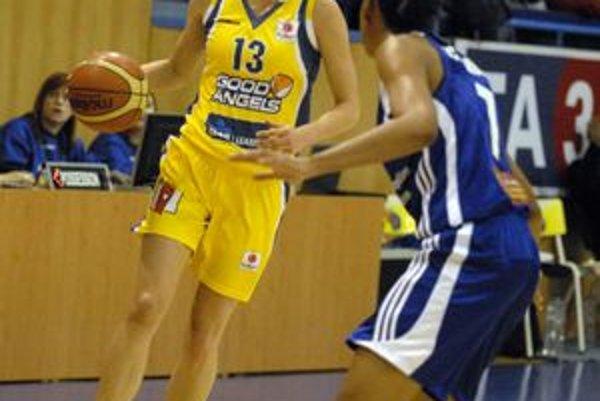Lucia Kupčíková. Kapitánka Good Angels Košice.