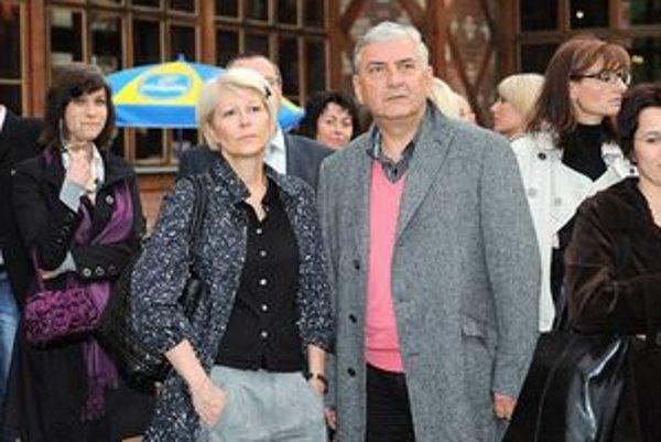 Manželia Donutilovci. Oslávili pred mesiacom 35. výročie svadby.