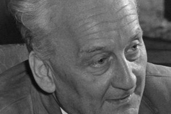 Albert Szent-Györgyi. V roku 1937 dostal Nobelovu cenu za medicínu alebo fyziológiu