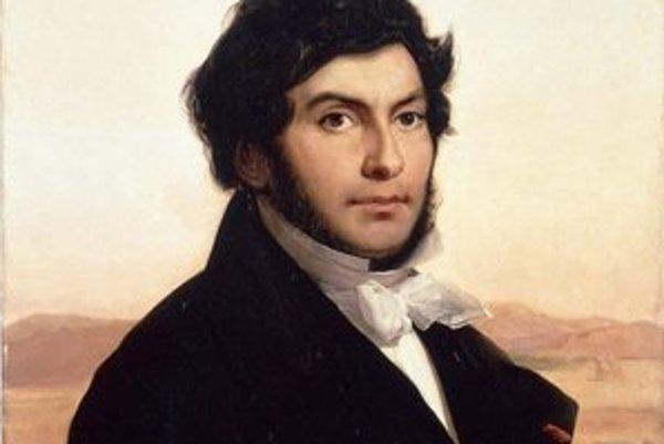 Jean-François Champollion. Portrét z roku 1831, ktorého autorom je L. Cogniet, je v parížskom múzeu Louvre.