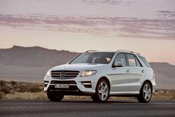 """Mercedes-Benz triedy M. Nové """"emko"""" bude mať verejnú premiéru na frankfurtskom autosalóne."""